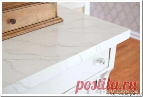 ¡El mármol karrarsky - dibujaremos! Aquí. ¡Se puede dibujarlo! El mármol de Carrara blanco tierno. Me gusta. Para la parte superior de la mesa - la idea fenomenal. Que inspira.\u000aEl trabajo no de más simple y fácil, pero el resultado de aquel cuesta: posmo …