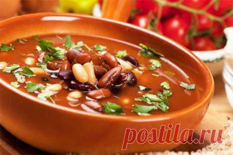 10 лучших рецептов вкусного и сытного фасолевого супа