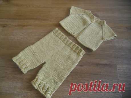 короткие штанишки с распашонкой