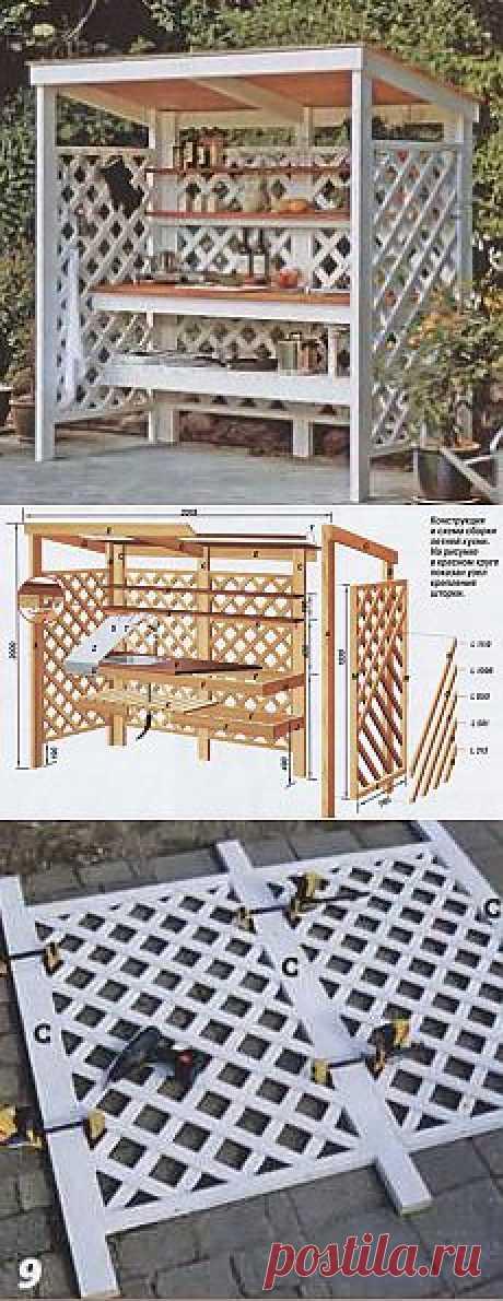Летняя кухня - Построим дом и дачу сами