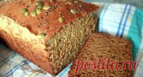 Рецепт полезного бездрожжевого хлеба: для всех любителей правильного питания