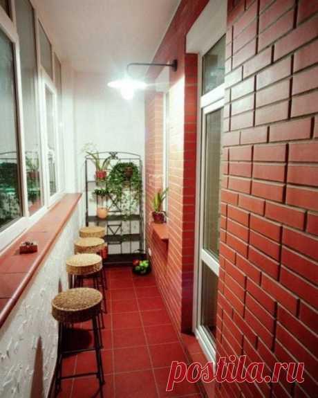 Идеи обустройства балкона и лоджии
