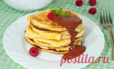 Как приготовить бисквитные оладьи :) - рецепт, ингредиенты и фотографии