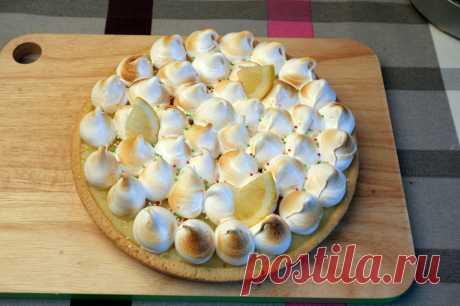 Тарт с лимонной начинкой и белковым кремом - рецепт - как приготовить - ингредиенты, состав, время приготовления - Леди Mail.Ru