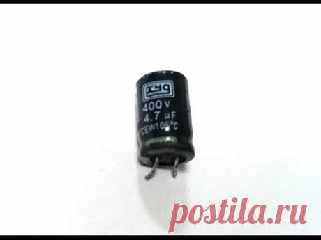 Как измерить емкость конденсатора мультиметром. Видеообзор от Интернет-магазина Electronoff