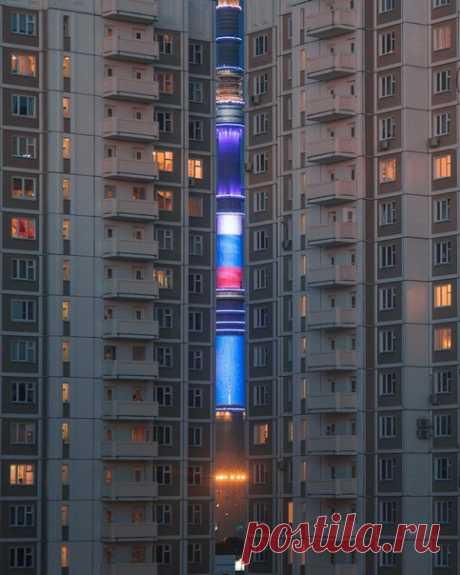 Останкинская телебашня, Москва