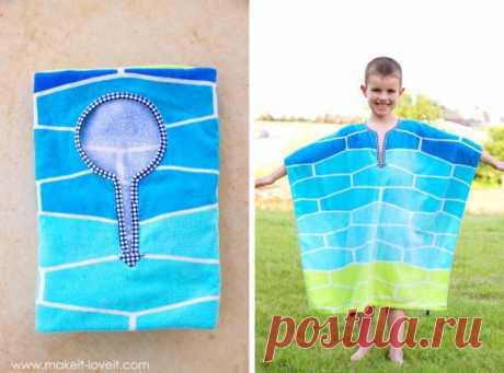 Пляжные пончо своими руками (Diy) Модная одежда и дизайн интерьера своими руками