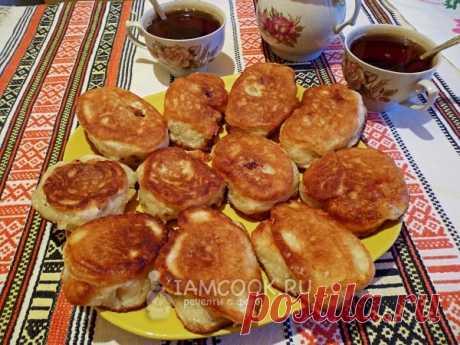 Жареные пирожки с абрикосами