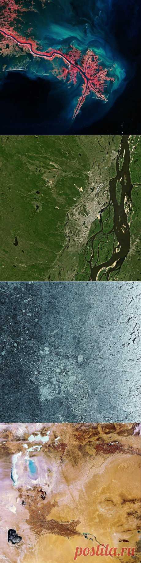 Наша прекрасная планета – вид с орбиты • НОВОСТИ В ФОТОГРАФИЯХ