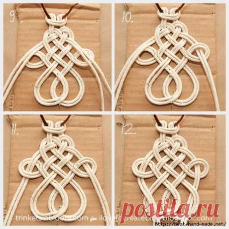 Изумительные украшения в технике макраме | takı | Macrame knots, Friendship bracelets and Craft