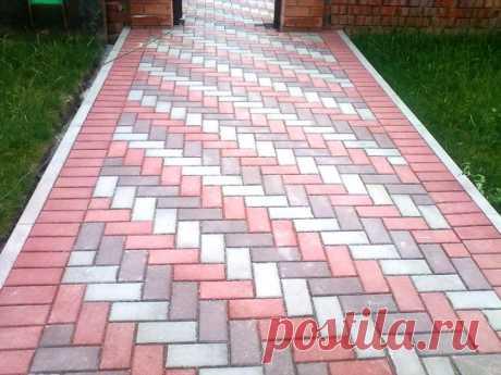 Рисунки укладки тротуарной плитки | Павемент-Харьков