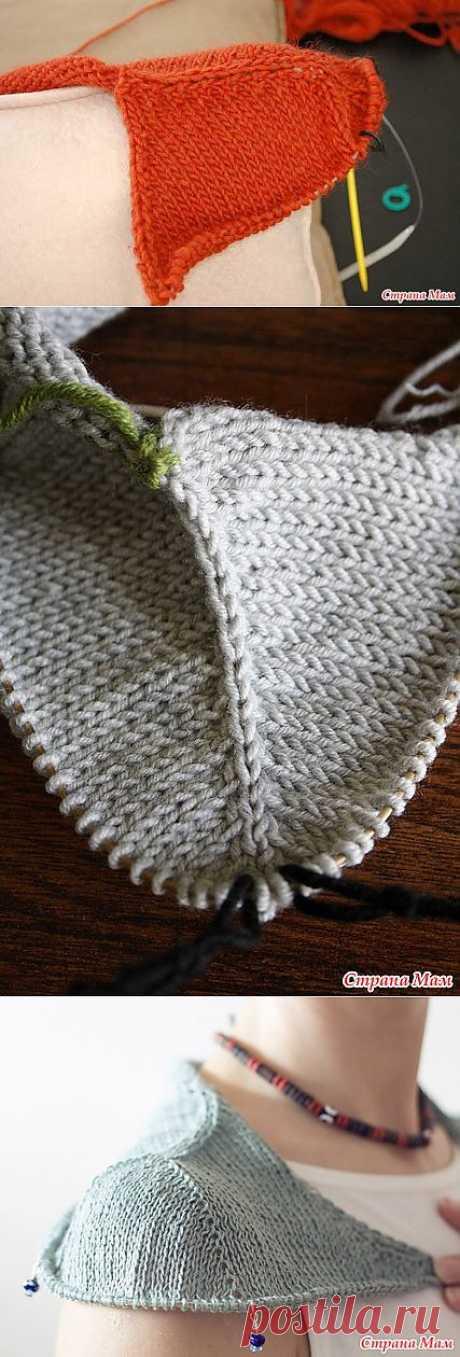 Метод Contiguous Set-In Sleeves (имитация вшивного рукава).