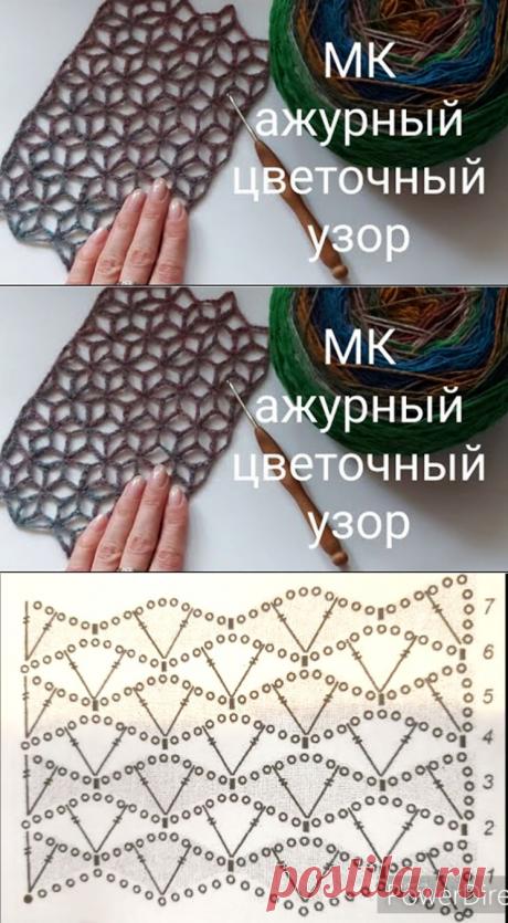 МК – ажурная сетка крючком (Вязание крючком) – Журнал Вдохновение Рукодельницы