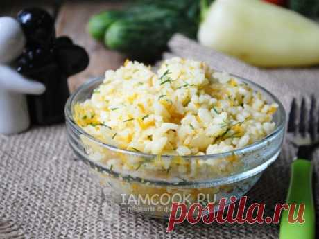 Рис с болгарским перцем — рецепт с фото Рецепт очень простого, вкусного и сытного блюда - риса со сладким болгарским перцем.