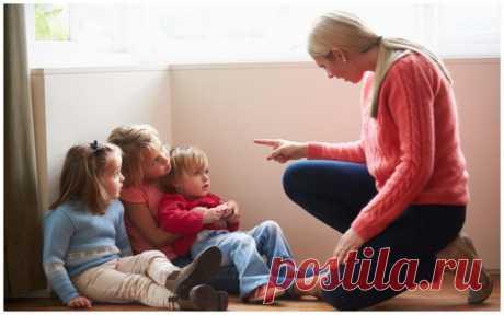 8 вещей, которые нельзя говорить детям ⋆