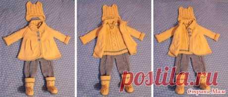 Костюм для малышки (кошечка или лисичка?) - Вязание - Страна Мам