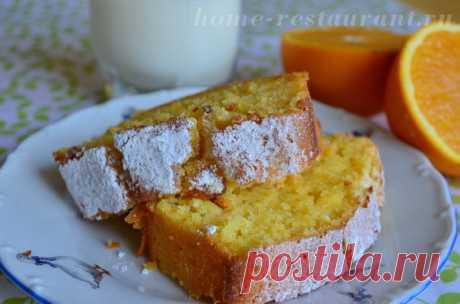 Апельсиновый кекс: рецепт с фото. Как приготовить апельсиновый кекс | Домашний Ресторан