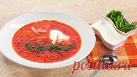 Борщ | Unilever Food Solutions