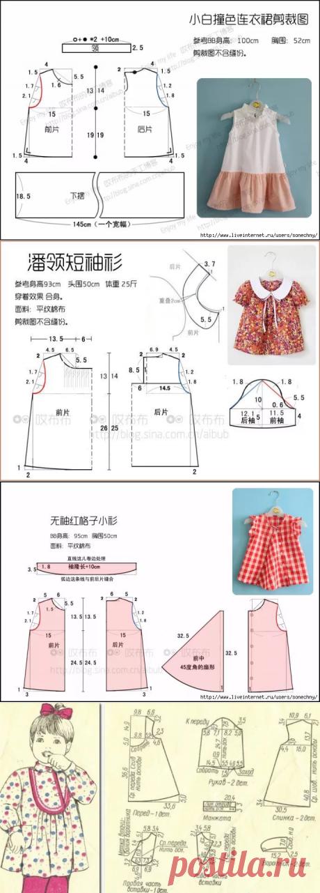 51442c1642d выкройка детского платья на 1 год в натуральную величину  7 тыс изображений  найдено в Яндекс