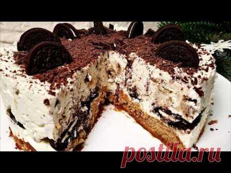 ПОТРЯСАЮЩИЙ ТОРТ за 5 Минут БЕЗ ВЫПЕЧКИ. Торт из ТВОРОГА - Вкусно и Просто