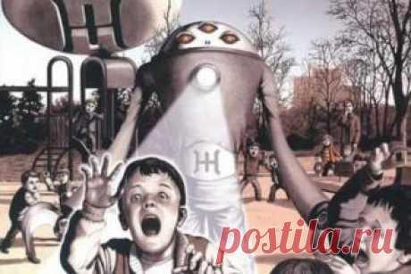 """Массовый """"футбол"""" с пришельцами в Воронеже - свежие новости Украины и мира"""