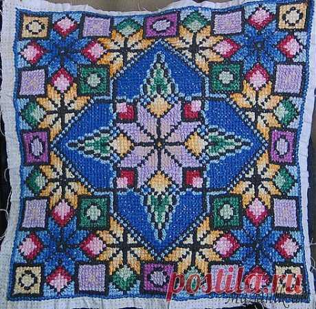 Вышивка болгарским крестом! | Вышивка крестом