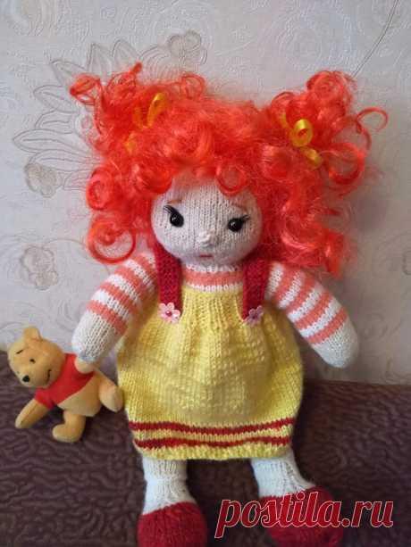 Вязаная кукла.Вязаные игрушки - подарок любимым: Каталог