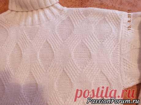 Свитер-распашонка... или всё старое - это новое - запись пользователя Лана Ленина (СветЛана Ульянова) в сообществе Вязание спицами в категории Вязание для женщин спицами. Схемы вязания спицами