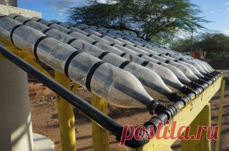 Solar water heater - Low-Tech Lab