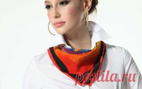 Как красиво завязывать шейные платки: стиль в каждой детали   KeFLine