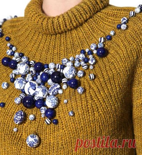 Декор одежды бусинами. 25 стильных идей… — HandMade