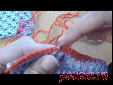 Несколько способов обвязки края изделия крючком (видео) / Мое творчество - вязание