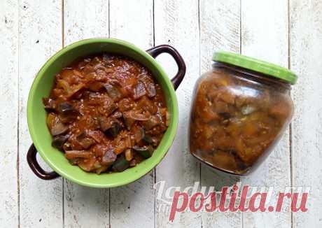 Баклажаны на зиму с болгарским перцем и чесноком - нереально вкусный рецепт | Простые рецепты с фото