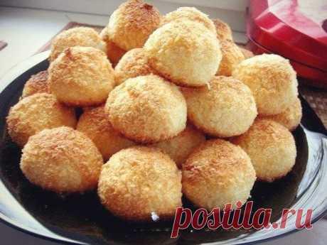Как приготовить печенье кокосанка - рецепт, ингредиенты и фотографии