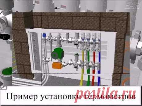 Mixing knot for a heat-insulated floor and a warm plinth — Yandex. Video