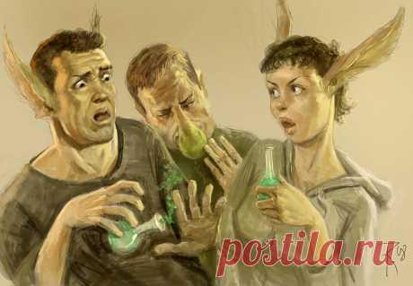 Фантастические иллюстрации Вальдемара фон Козака. Много новых - Все интересное в искусстве и не только. — LiveJournal