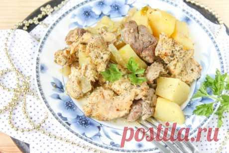 Кролик с картошкой в духовке — Sloosh – кулинарные рецепты