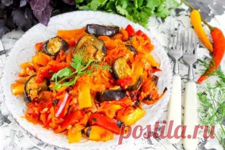 Аджапсандали: рецепт с фото классический, без картофеля