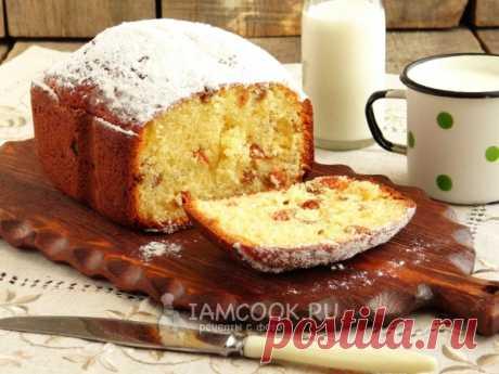Творожный кекс в хлебопечке — рецепт с фото пошагово