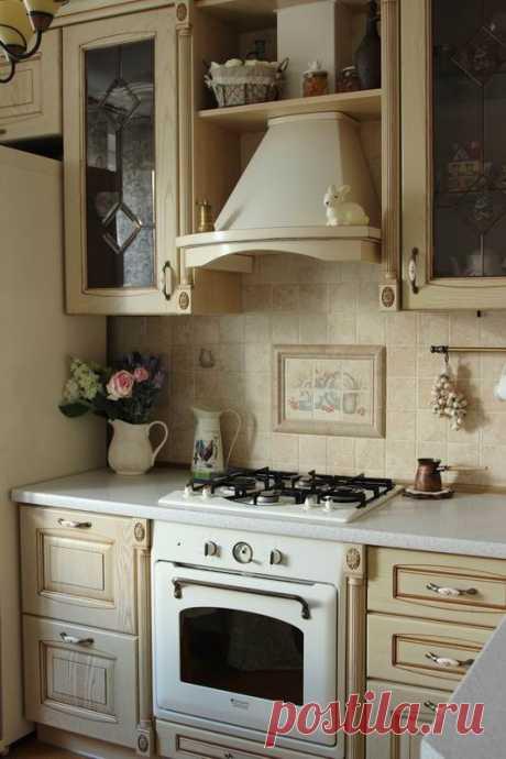 Кухня с ароматом ванили своими руками