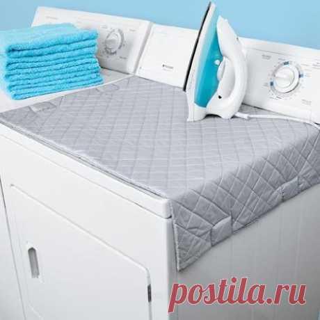 El tapiz pequeño magnético para glazhki de la ropa blanca. El hallazgo para los pequeños apartamentos. Se puede comprar por $9.09 en amazon.com.
