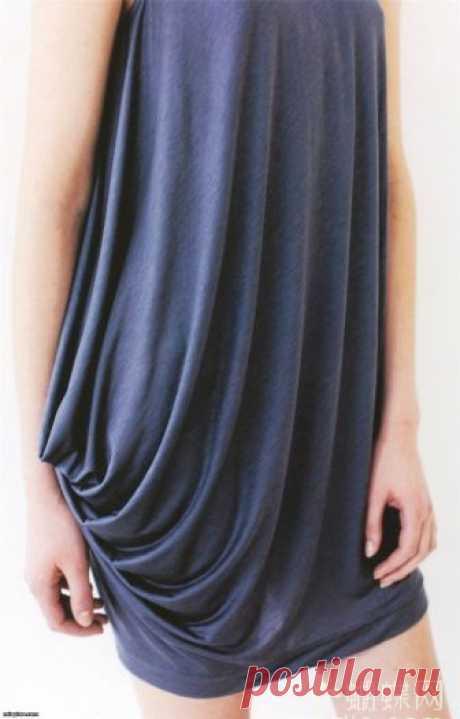 Красивое и простое платье — Делаем руками
