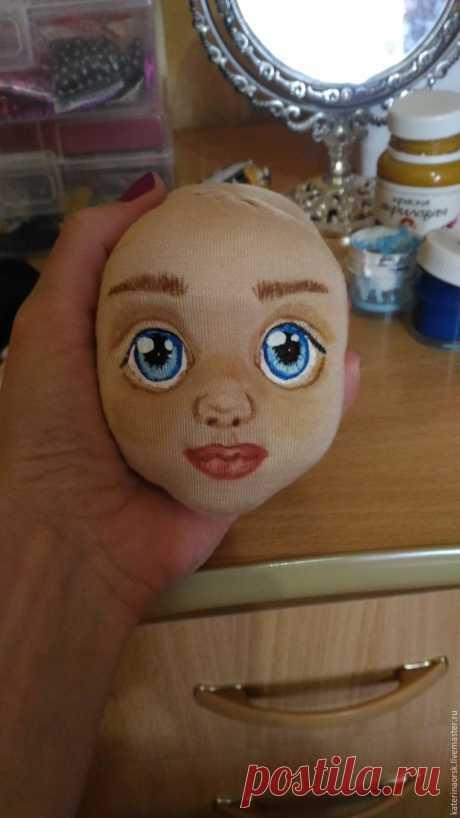 Шьем текстильную куклу с объемным лицом.МК. Часть 1