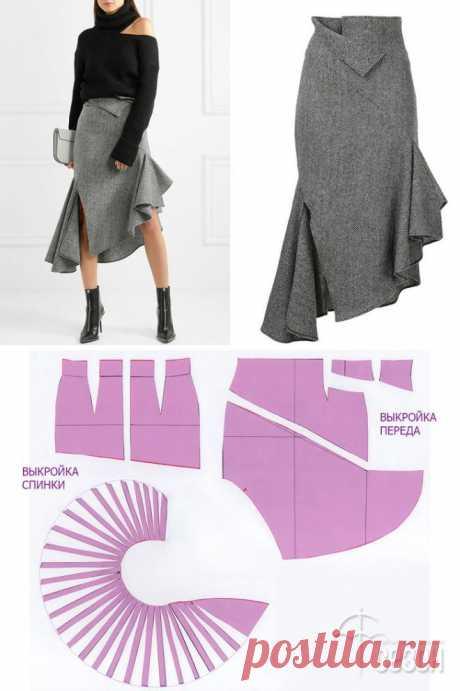 Моделирование оригинальных юбок — Сделай сам, идеи для творчества - DIY Ideas