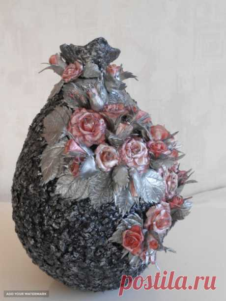 Интерьерная ваза Розовые мечты купить в Беларуси HandMade, цены в интернет магазинах