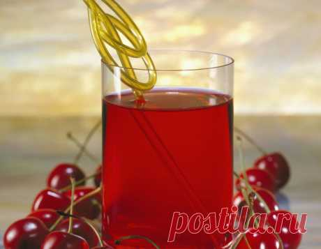 Кисель из вишни, рецепт киселя из вишен - Рецепты