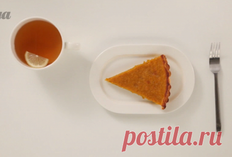 The American pumpkin pie with cinnamon the step-by-step recipe with video and a photo – American cuisine: pastries and desserts