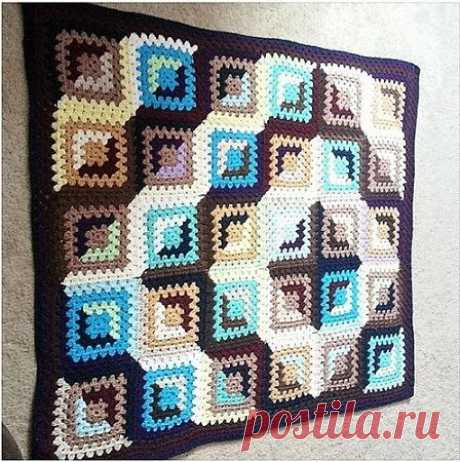 """GRANDMOTHER'S SQUARE - AGAIN IN FASHION.: Diary of \""""We KNIT ACCORDING TO the DESCRIPTION\"""" group: Groups - the female social network myJulia.ru"""