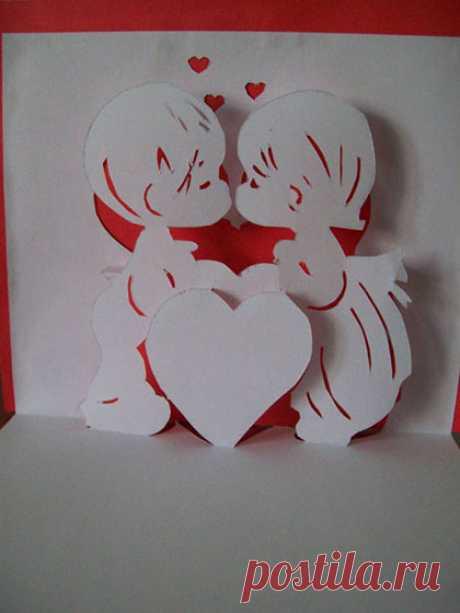 Чем похожи киригами, паперкрафт, объемная открытка, 3d открытка? Разница?