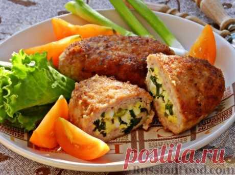 Зразы с яйцом и зеленым луком — Sloosh – кулинарные рецепты